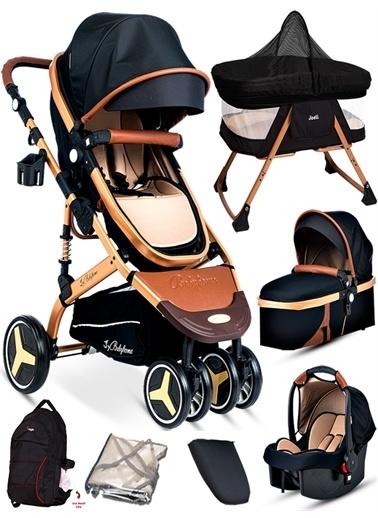 Baby Home Baby Home 945 Paris Travel Sistem Bebek Arabası Anne Yanı Sepet Beşik Renkli